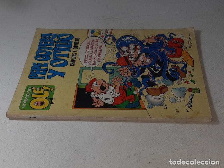 Tebeos: COLECCION OLE : PEPE GOTERA Y OTILIO Nº 1 LOMO CHAPUZAS A DOMICILIO 3ª EDICION AÑO 1977 ED. BRUGUERA - Foto 8 - 254395255