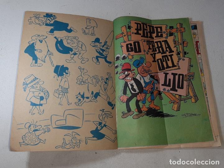 Tebeos: COLECCION OLE : PEPE GOTERA Y OTILIO Nº 1 LOMO CHAPUZAS A DOMICILIO 3ª EDICION AÑO 1977 ED. BRUGUERA - Foto 18 - 254395255