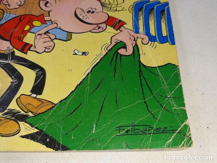 Tebeos: COLECCION OLE : EL BOTONES SACARINO Nº 3 LOMO - LIOS EN LA OFICINA 2ª EDICION AÑO 1972 ED. BRUGUERA - Foto 3 - 254396870