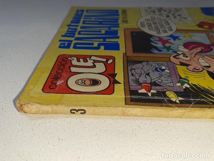 Tebeos: COLECCION OLE : EL BOTONES SACARINO Nº 3 LOMO - LIOS EN LA OFICINA 2ª EDICION AÑO 1972 ED. BRUGUERA - Foto 7 - 254396870