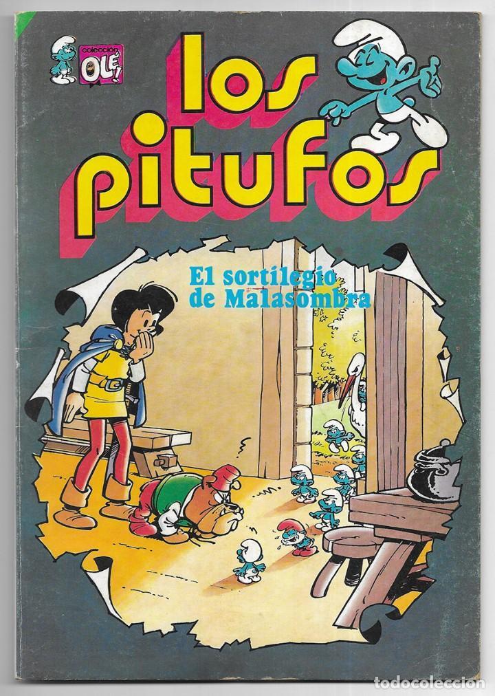 SORTILEGIO DE MALASOMBRA, EL. LOS PITUFOS COL. OLË (Tebeos y Comics - Bruguera - Ole)