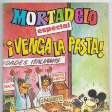 Tebeos: MORTADELO. ESPECIAL VENGA LA PASTA! Nº 184. Lote 254402190