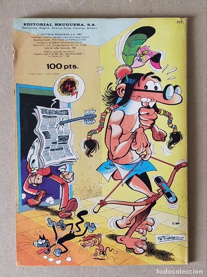 Tebeos: COLECCIÓN OLE: MORTADELO Y FILEMON con EL BOTONES SACARINO Nº 232. - BRUGUERA 1ª Ed. 1981 - Foto 2 - 254418105