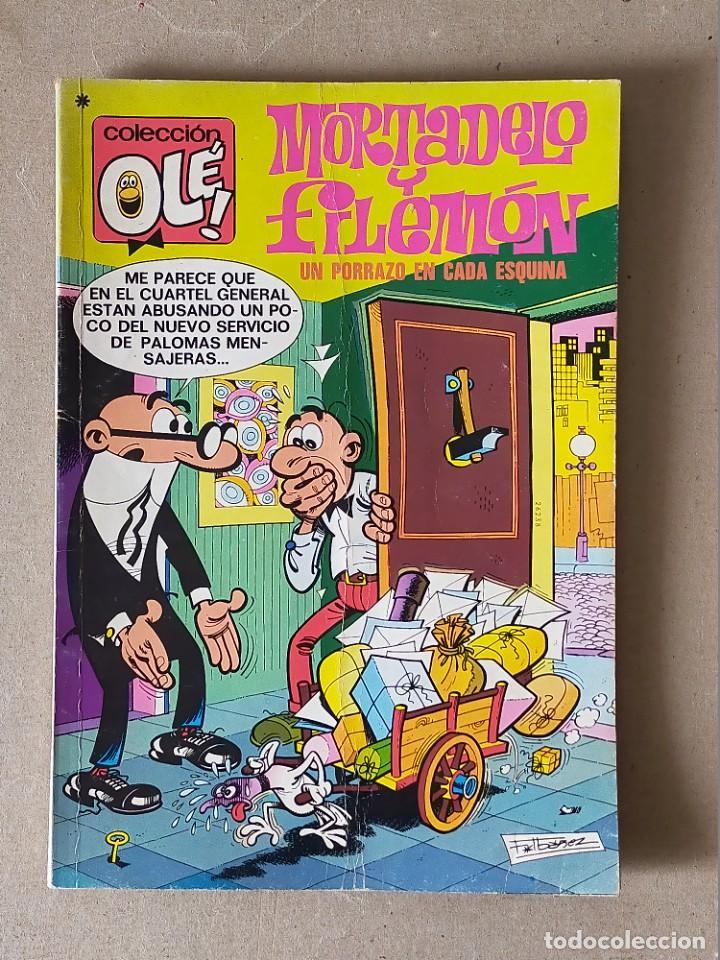 COLECCIÓN OLE: MORTADELO Y FILEMON Nº 105. UN PORRAZO EN CADA ESQUINA - BRUGUERA 3ª EDICION 1978 (Tebeos y Comics - Bruguera - Ole)