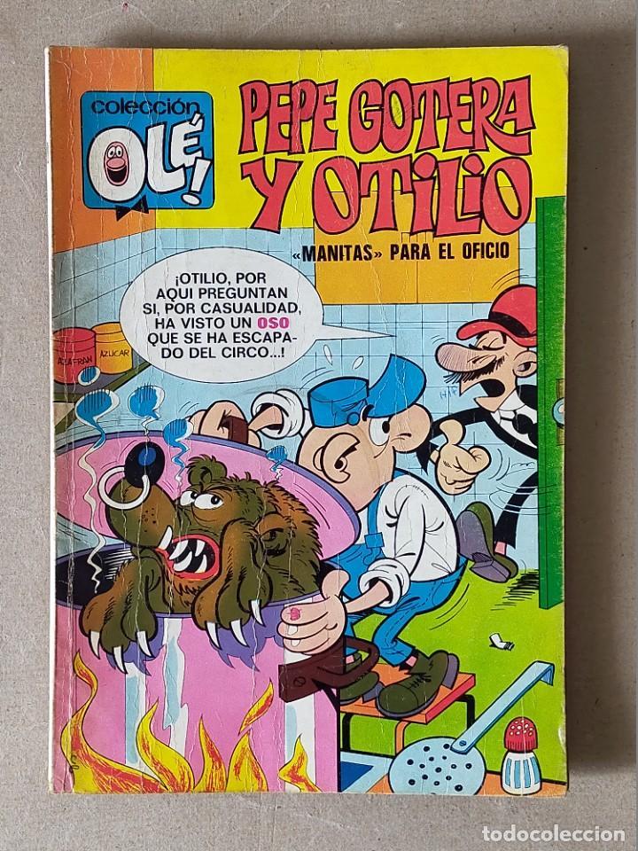 COLECCION OLE: PEPE GOTERA Y OTILIO Nº 60 (NUMERO EN EL LOMO) - BRUGUERA 2ª EDICIÓN. 1975 (Tebeos y Comics - Bruguera - Ole)