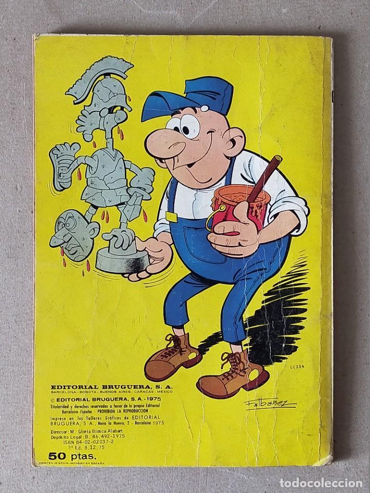 Tebeos: COLECCION OLE: PEPE GOTERA Y OTILIO Nº 60 (NUMERO EN EL LOMO) - BRUGUERA 2ª Edición. 1975 - Foto 2 - 254424710