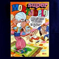 Tebeos: SUPER MORTADELO - Nº 6 - EDITORIAL BRUGUERA - 1972 - CON 3 BILLETES 1000 MORTADELOS - ORIGINAL -. Lote 254430490