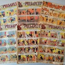 Tebeos: LOTE CON 6 TEBEOS DE PULGARCITO - NºS 444, 446,488, 449, 488 Y 726 - 10 CTS - TODOS FOTOGRAFICADOS. Lote 254466895