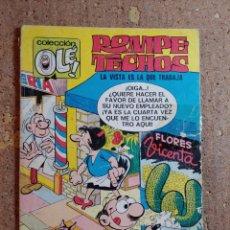 Tebeos: COMIC DE OLE ROMPE TECHOS EN LA VISTA ES LA QUE TRABAJA DEL AÑO 1981 Nº 14. Lote 254474815