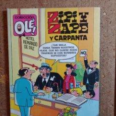 Tebeos: COMIC DE OLE ZIPI Y ZAPE Y CARPANTA DEL AÑO 1992 Nº Z.131. Lote 254475270