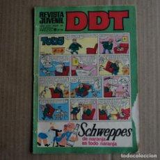 Tebeos: DDT, Nº 44. BRUGUERA, 1968. LITERACOMIC. Lote 254475740
