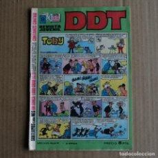 Tebeos: DDT, Nº 90. BRUGUERA, 1969. LITERACOMIC. Lote 254478250