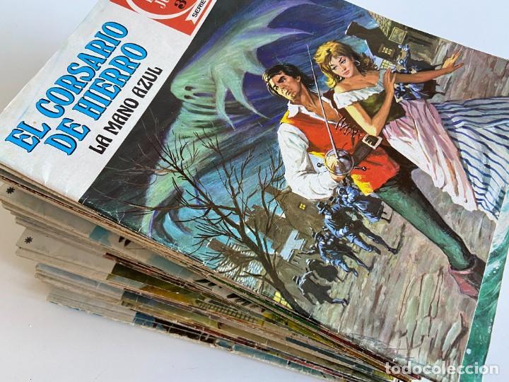 COLECCIÓN COMPLETA DE EL CORSARIO DE HIERRO DE BRUGUERA - JOYAS LITERARIAS JUVENILES SERIE ROJA (Tebeos y Comics - Bruguera - Joyas Literarias)