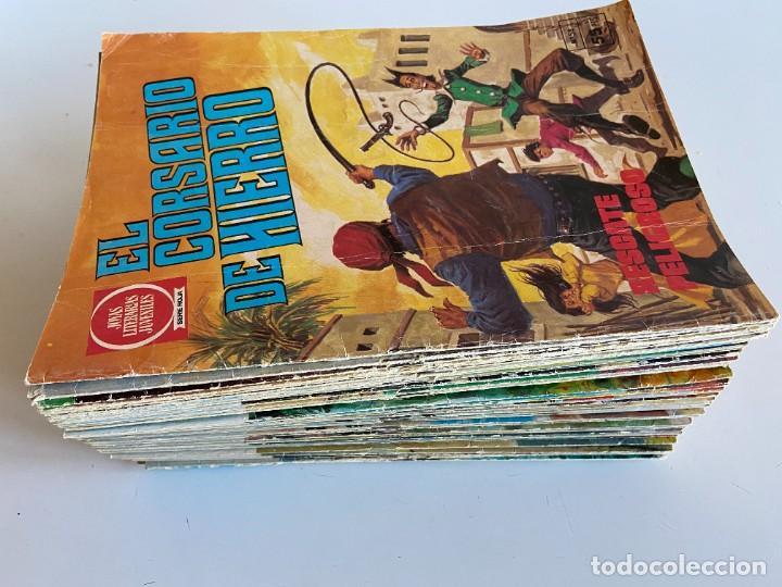 Tebeos: Colección completa de El corsario de Hierro de Bruguera - Joyas Literarias Juveniles serie Roja - Foto 3 - 254479460