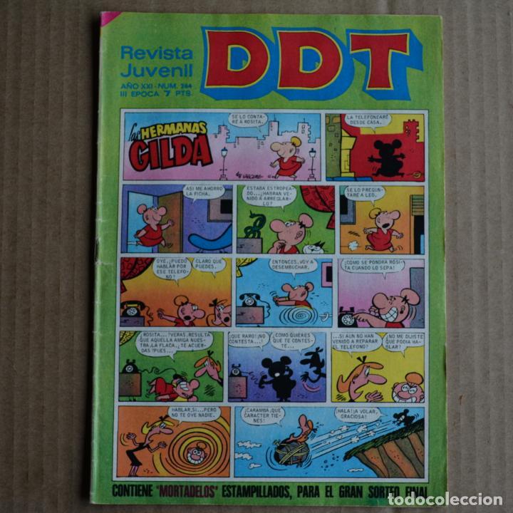 DDT, Nº 264. BRUGUERA, 1972. LITERACOMIC (Tebeos y Comics - Bruguera - DDT)