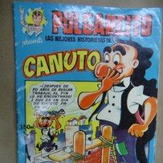 Tebeos: Nº 3 DE 1949 LAS MEJORES HISTORIAS DE PULGARCITO CANUTO SERIE MAGOS DEL LÁPIZ GARCÍA PULGARCITO. Lote 254575415
