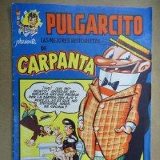 Tebeos: Nº 5 DE 1949 LAS MEJORES HISTORIAS DE PULGARCITO CARPANTA SERIE MAGOS DEL LÁPIZ ESCOBAR PULGARCITO. Lote 254576000