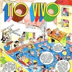 Tebeos: TÍO VIVO- EXTRA DE VERANO 1973-HERMANN-RAF-CASTILLO-GOSSÈ-SEGURA-REGULAR-DIFÍCIL-LEA-4568. Lote 254604370