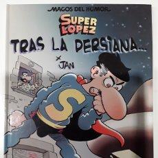 Tebeos: MAGOS DEL HUMOR 104. SUPER LOPEZ. TRAS LA PERSIANA ... - JAN - BRUGUERA. Lote 254666800