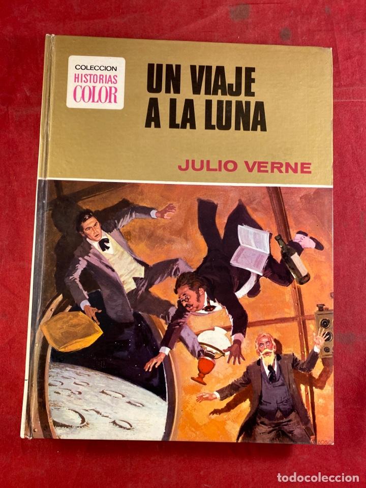 UN VIAJE A LA LUNA JULIO VERNE (Tebeos y Comics - Bruguera - Historias Selección)