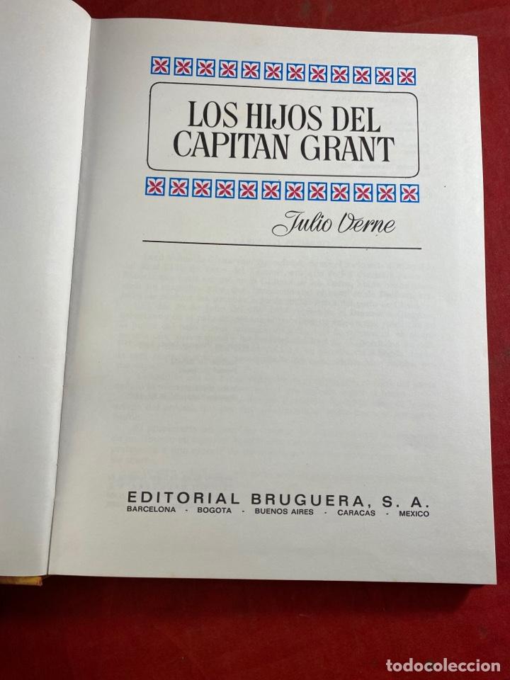 Tebeos: LOS HIJOS DEL CAPITÁN GRANT - Foto 2 - 254676650