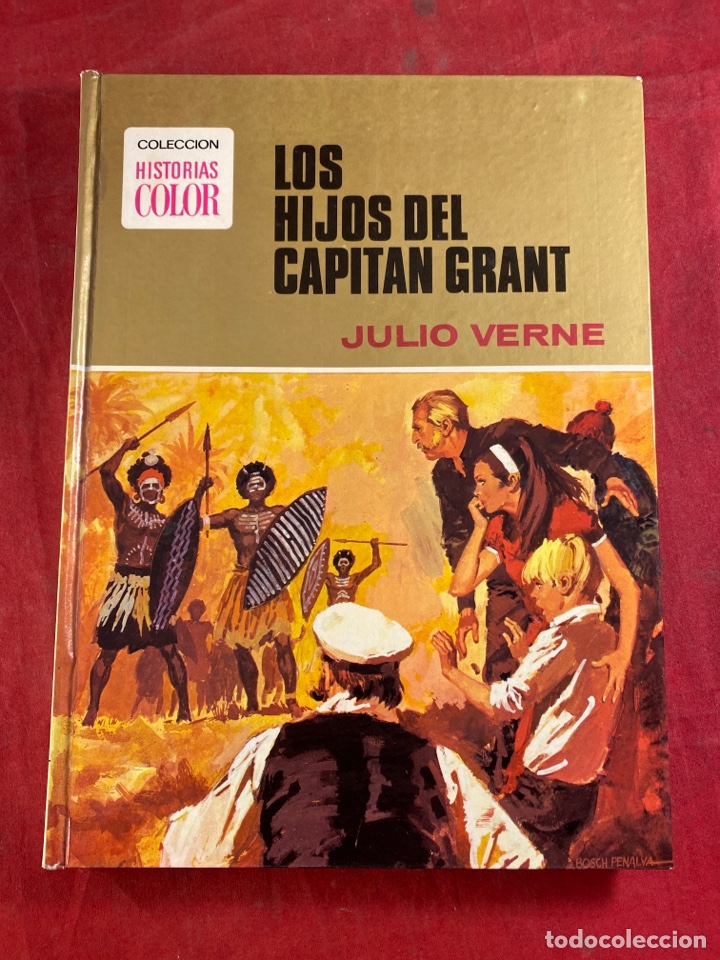 LOS HIJOS DEL CAPITÁN GRANT (Tebeos y Comics - Bruguera - Historias Selección)