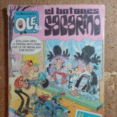 Tebeos: COMIC DE OLE EL BOTONES SACARINO DEL AÑO 1987 Nº 275 - 18. Lote 254682730