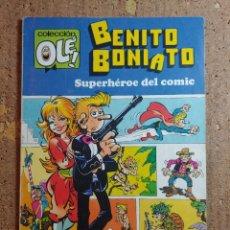 Tebeos: COMIC DE OLE BENITO BONIATO SUPERHEROE DEL COMIC DEL AÑO 1984 Nº 1. Lote 254686170