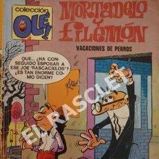 Tebeos: COMIC - MORTADELO Y FILEMON - VACACIONES DE PERROS. Lote 254767095