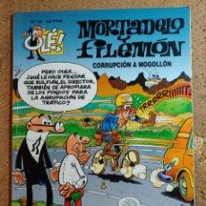 Livros de Banda Desenhada: COMIC DE OLE MORTADELO Y FILEMÓN EN CORRUPCION A MOGOLLON DEL AÑO 2000 Nº 125. Lote 254871780
