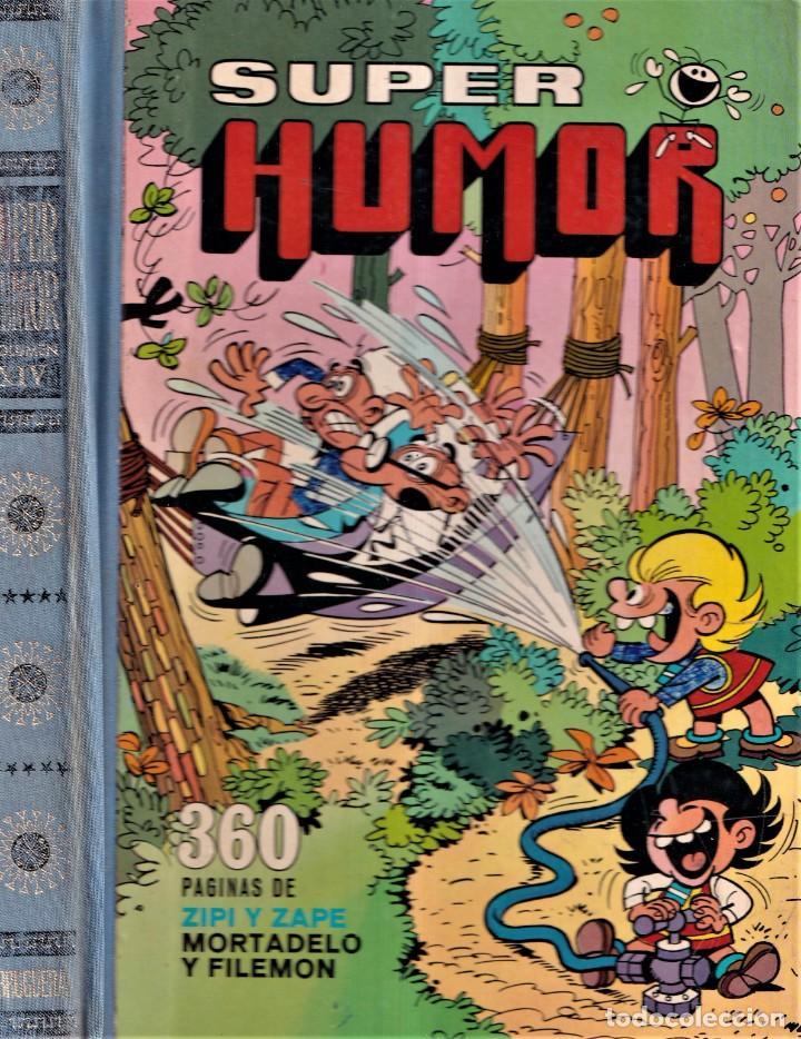 SUPER HUMOR XIV - MORTADELO Y FILEMÓN, ZIPI Y ZAPE - EDITORIAL BRUGUERA 1976 PRIMERA EDICIÓN (Tebeos y Comics - Bruguera - Super Humor)