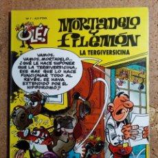 Livros de Banda Desenhada: COMIC DE OLE MORTADELO Y FILEMON EN LA TERGIVERSICINA DEL AÑO 2000 Nº 7. Lote 254893885