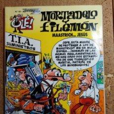 Livros de Banda Desenhada: COMIC DE OLE MORTADELO Y FILEMÓN EN MAASTRICH... JESUS DEL AÑO 1999 Nº 50. Lote 254896785