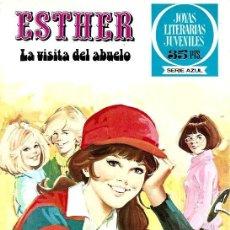 Tebeos: ESTHER,EDITORIAL BRUGUERA, JOYAS LITERARIAS JUVENILES SERIE AZUL Nº 31. Lote 254922830
