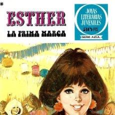 Tebeos: ESTHER,EDITORIAL BRUGUERA, JOYAS LITERARIAS JUVENILES SERIE AZUL Nº 23. Lote 254923570