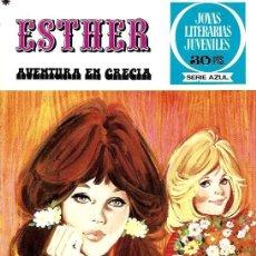Tebeos: ESTHER,EDITORIAL BRUGUERA, JOYAS LITERARIAS JUVENILES SERIE AZUL Nº 22. Lote 254923920