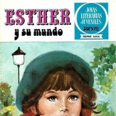 Tebeos: ESTHER,EDITORIAL BRUGUERA, JOYAS LITERARIAS JUVENILES SERIE AZUL Nº 1. Lote 254924310