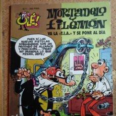 Tebeos: COMIC DE OLE MORTADELO Y FILEMON EN VA LA T. I. A. Y SE PONE AL DIA DEL AÑO 1995 Nº 1. Lote 254930775
