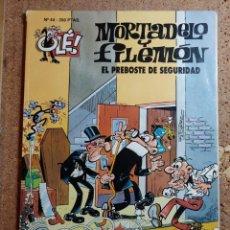Livros de Banda Desenhada: COMIC DE OLE MORTADELO Y FILEMON EN EL PREBOSTE DE SEGURIDAD DEL AÑO 1993 Nº 44. Lote 254932600