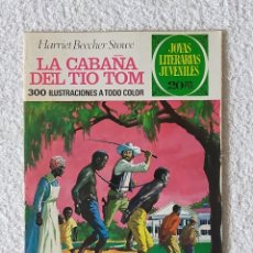 Tebeos: JOYAS LITERARIAS JUVENILES. Nº 18: LA CABAÑA DEL TIO TOM - 3º EDICIÓN 1974 - EDITORIAL BRUGUERA. Lote 254951780
