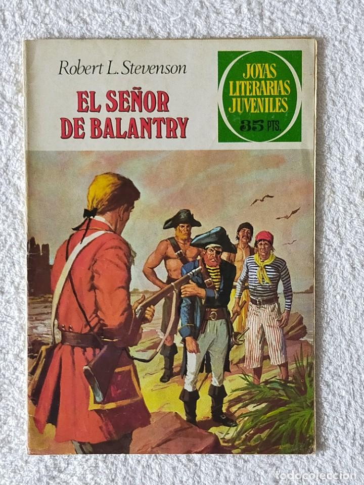 JOYAS LITERARIAS JUVENILES. Nº 20: EL SEÑOR DE BALANTRY - 5º EDICIÓN 1979 - EDITORIAL BRUGUERA (Tebeos y Comics - Bruguera - Joyas Literarias)