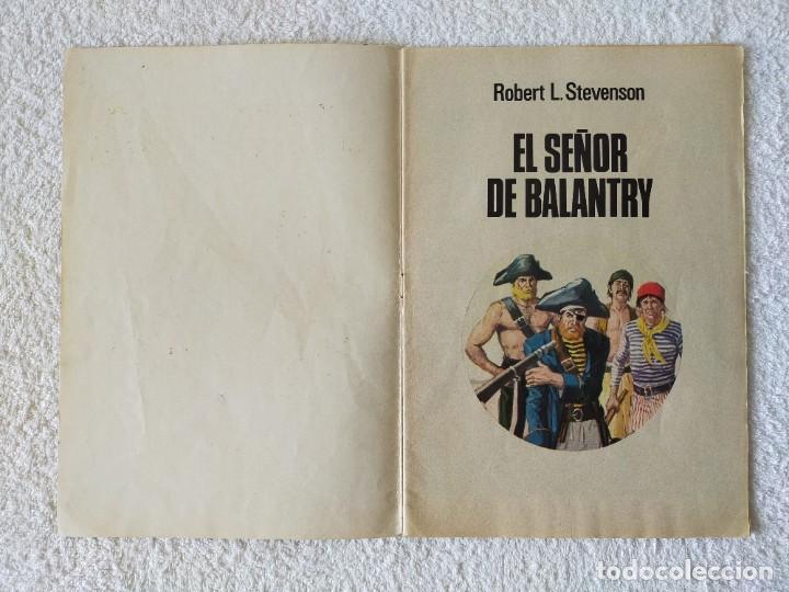 Tebeos: JOYAS LITERARIAS JUVENILES. Nº 20: EL SEÑOR DE BALANTRY - 5º Edición 1979 - EDITORIAL BRUGUERA - Foto 2 - 255000865