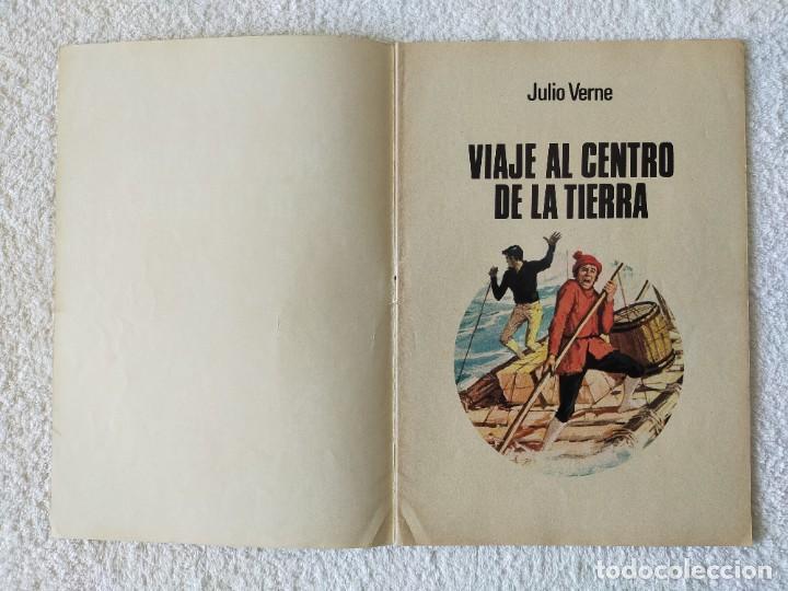 Tebeos: JOYAS LITERARIAS JUVENILES. Nº 21: VIAJE AL CENTRO DE LA TIERRA - 5º Edición 1979 - Edit BRUGUERA - Foto 2 - 255001325