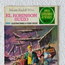 Tebeos: JOYAS LITERARIAS JUVENILES. Nº 23: EL ROBINSON SUIZO - 2º EDICIÓN 1972 - EDITORIAL BRUGUERA. Lote 255307070