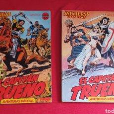 Tebeos: EL CAPITAL TRUENO AVENTURAS BIZARRAS TOMON1 Y TOMO 2. Lote 255380640