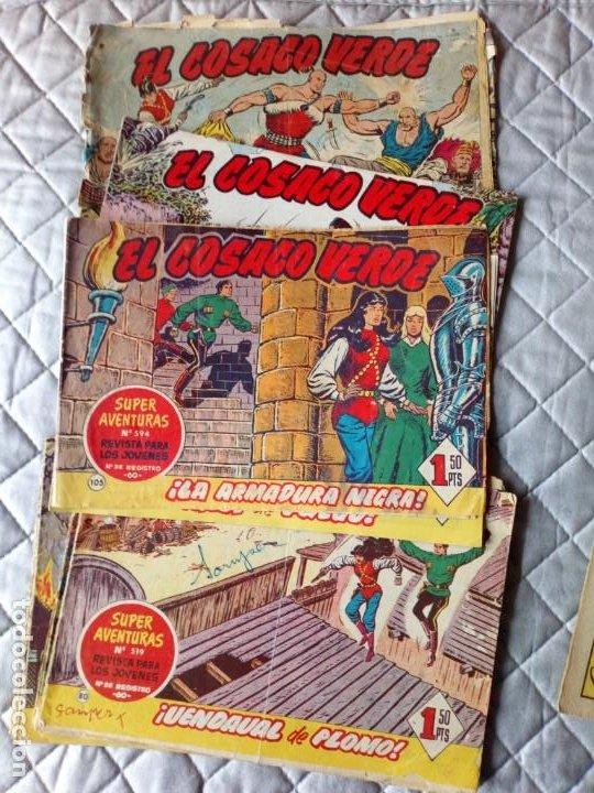 EL COSACO VERDE LOTE DE 18 TEBEOS ORIGINALES BROGUERA (Tebeos y Comics - Bruguera - Cosaco Verde)