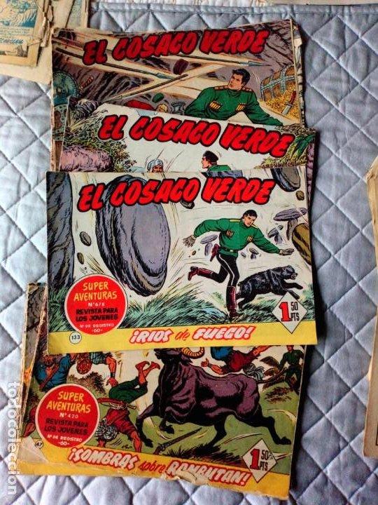 Tebeos: El Cosaco Verde LOTE de 18 Tebeos ORIGINALES BROGUERA - Foto 2 - 255409280