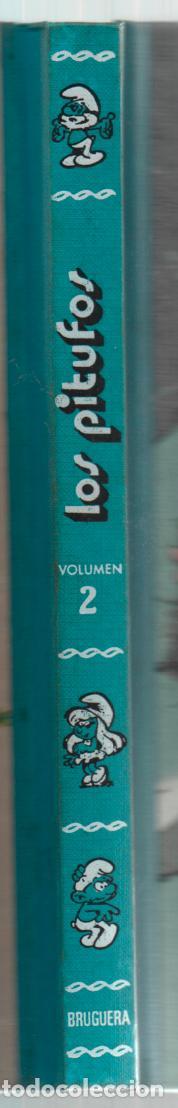 Tebeos: SUPERHUMOR LOS PITUFOS VOLUMEN 2 BRUGUERA. 1981 - Foto 2 - 255425660