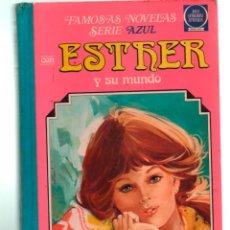 Tebeos: FAMOSAS NOVELAS SERIE AZUL ESTHER Y SU MUNO. VOLUMEN 3. BRUGUERA. 2ª ED. 1981. Lote 255426195
