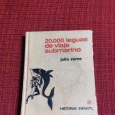 Tebeos: HISTORIAS INFANTIL N° 20: 20.000 LEGUAS DE VIAJE SUBMARINO (JULIO VERNE) (ED. BRUGUERA). Lote 255468885